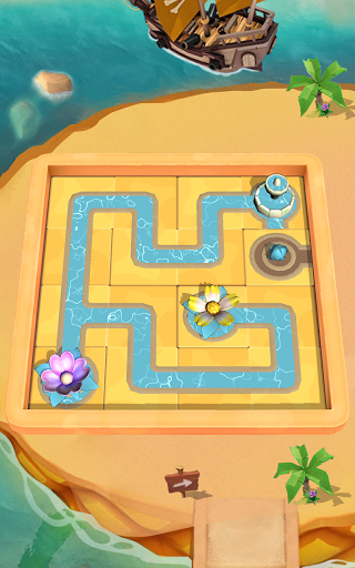 Flow Water Connect Puzzle  screenshots 9