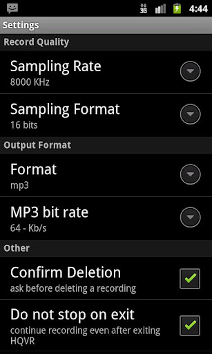 HQ Voice Recorder Lite For PC Windows (7, 8, 10, 10X) & Mac Computer Image Number- 8