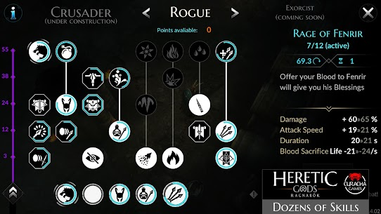 HERETIC GODS 1.11.11 Mod Apk [Free Buy/VIP] 3