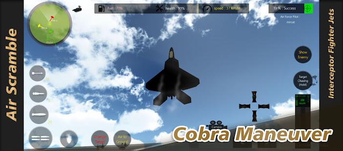 Air Scramble : Interceptor Fighter Jets apk