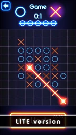 Tic Tac Toe glow - Free Puzzle Game 3.1 screenshots 12