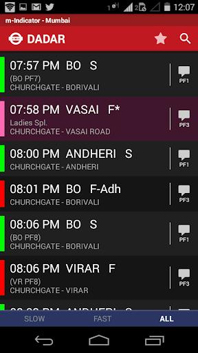m-Indicator- Mumbai - Live Train Position 17.0.189 Screenshots 4