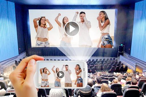 HD Video Projector Simulator apktram screenshots 1