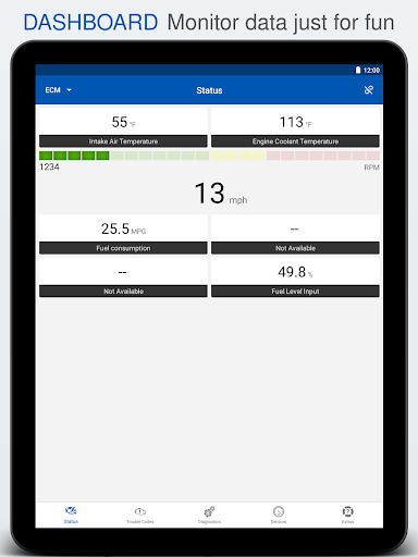 OBD Auto Doctor - ELM327 & OBD2 car scanner tool  Screenshots 7