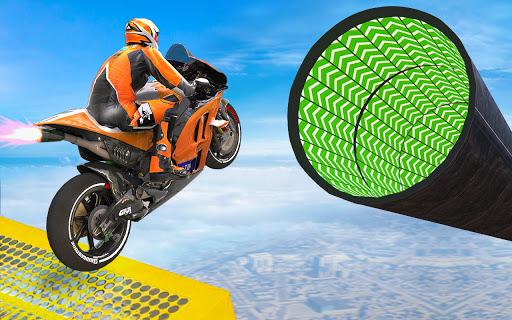 Bike Impossible Tracks Race: 3D Motorcycle Stunts  Screenshots 7