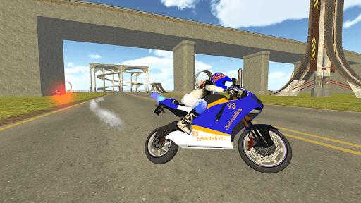 Bike Rider VS Cop Car - Police Chase & Escape Game Apkfinish screenshots 9