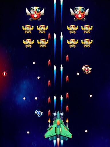 Galaxy Attack: Robot Transform Chicken Shooter 12.1 screenshots 9