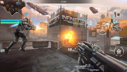 Infinity Ops Mod Apk: Online FPS Cyberpunk Shooter 3