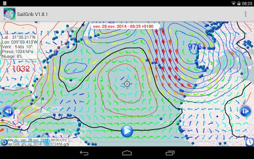 Marine Weather | SailGrib Free 2.0.1 Screenshots 12