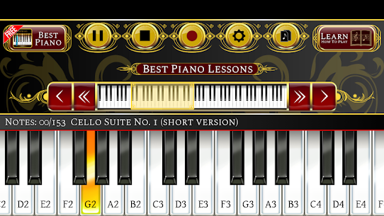 Best Piano Lessons 1.1.5 Latest MOD Updated 3