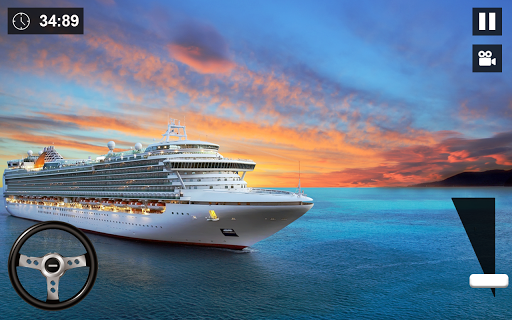World Cruise Cargo Big Ship:Passenger Ferry Sim 20 screenshots 2