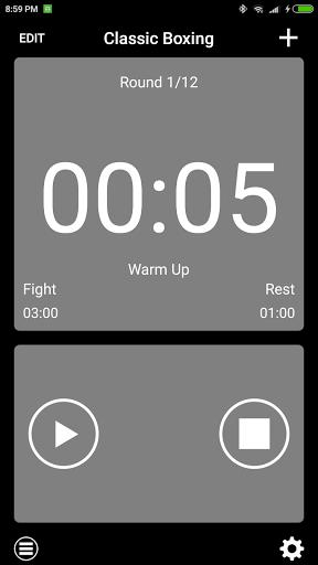 Gymborg Boxing Timer screenshot 1