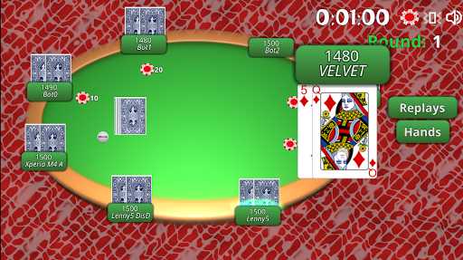 BlueTooth Poker 8 - Texas Holdem Game android2mod screenshots 5