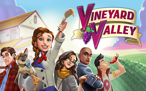 Vineyard Valley: Match & Blast Puzzle Design Game apkslow screenshots 13