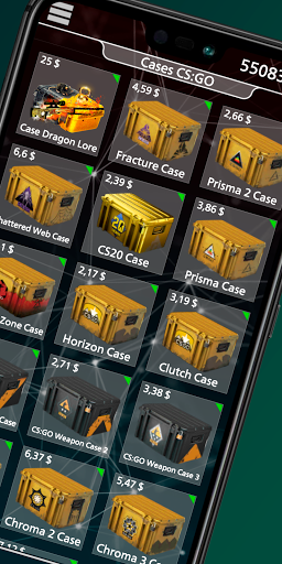 Case Simulator Online - open cs go cases here. 4.2.0.0 screenshots 2