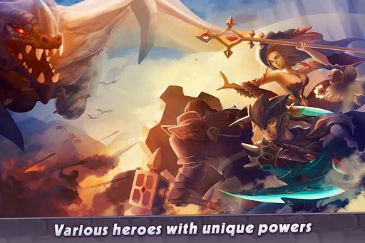 Castle Rush: Hero defender & Idle defense screenshots 1