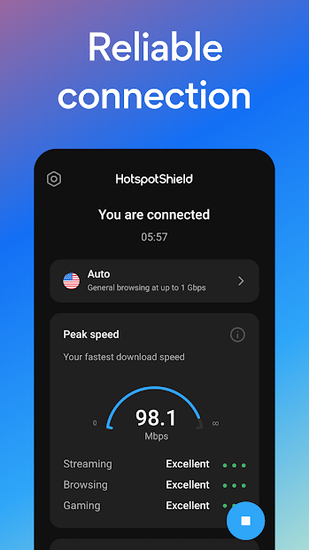 Hotspot Shield Free VPN Proxy & Secure VPN screenshot 3