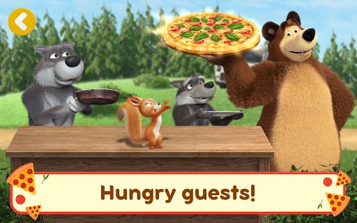 Masha and the Bear Pizzeria Game! Pizza Maker Game  screenshots 13