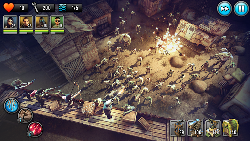 Last Hope TD - Zombie Tower Defense Games Offline 3.82 screenshots 1
