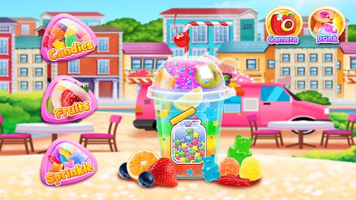 Rainbow Frozen Slushy Truck: Ice Candy Slush Maker  screenshots 5