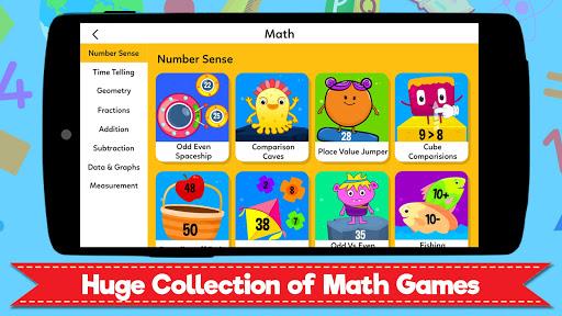 Grade 1 Learning Games for Kids - First Grade App  screenshots 2
