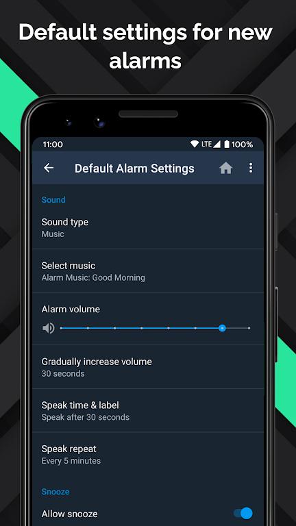 Alarm Clock Beyond - Talking Alarm, Radio & Music  poster 3