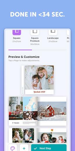 Journi Print: Photo Books & Polaroid Pics Fast! 1.20.4 screenshots 2