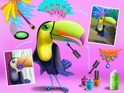 Jungle Animal Hair Salon - Styling Game for Kids 4.0.10018 screenshots 14