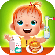 Baby care game for kids