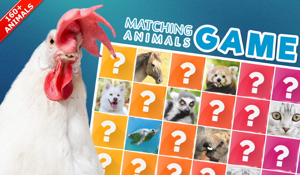 Memory Game: Animals