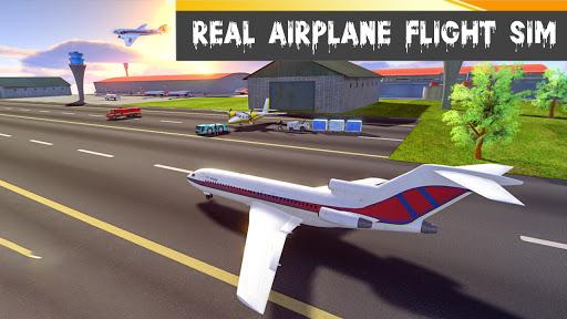 Airplane Game New Flight Simulator 2021: Free Game 0.1 screenshots 4