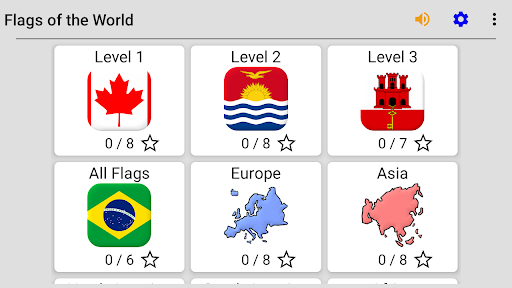 Flags of All Countries of the World: Guess-Quiz 3.1.0 screenshots 8