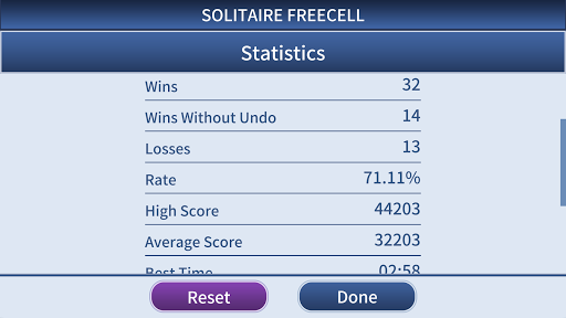 FreeCell Solitaire Classic u2013 u2663ufe0fu2666ufe0fu2665ufe0fu2660ufe0f Card Game 1.1.1.RC Screenshots 7