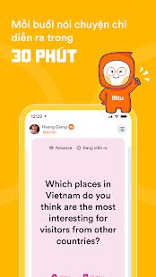 Bitu, Practice speaking English
