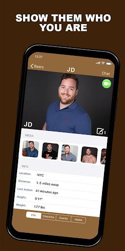GROWLr: Gay Bears Near You 15.0 Screenshots 5