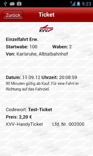 KVV.ticket  screenshots 2
