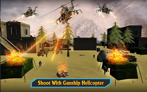 Gunship Helicopter Air War Strike android2mod screenshots 9