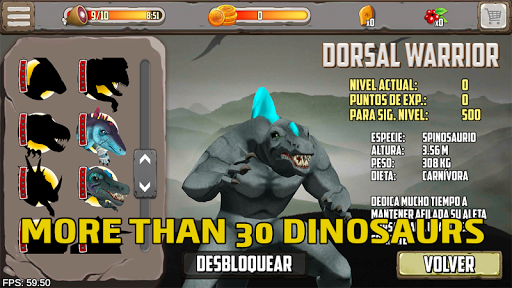 Dinosaurs fighters 2021 - Free fighting games  screenshots 2
