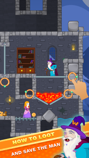 How To Loot: Pull The Pin & Rescue Princess Puzzle  Screenshots 7