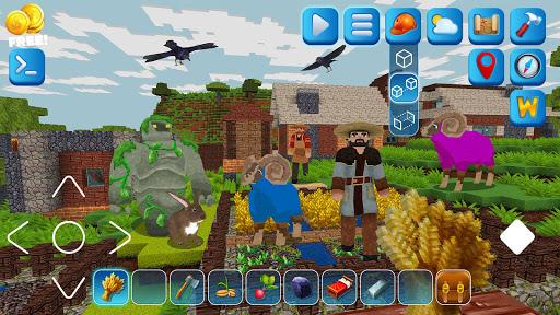 EarthCraft 3D: Block Craft & World Exploration 5.1.2 screenshots 2