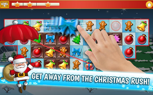 Christmas Crush Holiday Swapper Candy Match 3 Game 1.66 screenshots 9