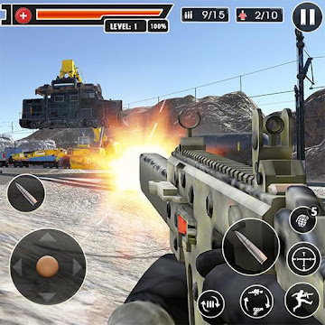Screenshot 1 de Rangers Honor: Juegos Disparos juegos de pistolas para android