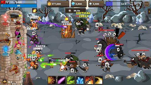 Final Castle Defence : Idle RPG apkslow screenshots 5