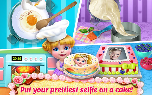 Real Cake Maker 3D - Bake, Design & Decorate  screenshots 2