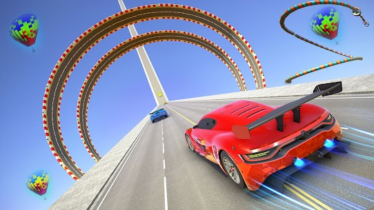 Ramp Car Stunts 3D- Mega Ramp Stunt Car Games 2021 3