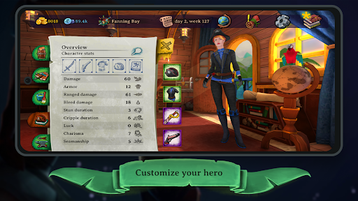 Elly and the Ruby Atlas u2013 Pirate Games Free screenshots 4