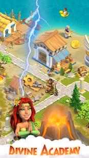 Divine Academy: God Simulator, Build your City Unlimited Money