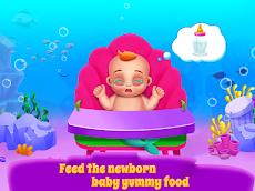 マーメイドママ&新生児 - ベビーシッターゲームのおすすめ画像4