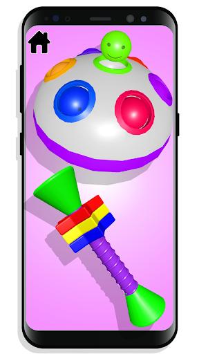 Fidget Toys Calming Games Sensory kit anti anxiety  screenshots 2