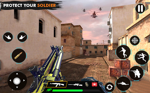 offline shooting game: free gun game 2021 modavailable screenshots 7